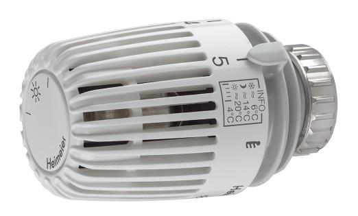 Heimeier Thermostatkopf K mit eingebautem Fühler