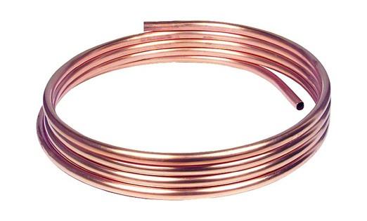 L/änge frei w/ählbar weich im Ring R220-1 m Ring Kupferrohr 15 x 1,0 mm